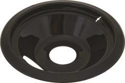 Porcelain-Coated Drip Pan for Whirlpool Electric Ranges, Bla