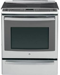 GE Profile PS920SFSS 30 Inch Slide-in Electric Range with Co