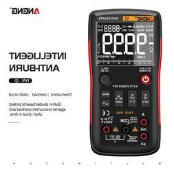 ANENG Q1 digital multimeter 9999 Analog Tester True RMS Prof