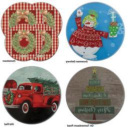 Range Kleen Christmas Electric STOVE Top BURNER COVERS U Cho