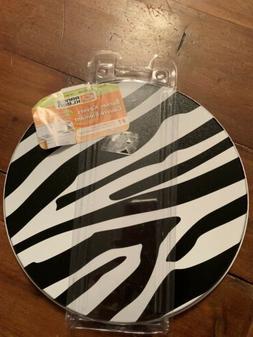 Range Kleen Electric Stove Too Burner Covers 4 Black White Z