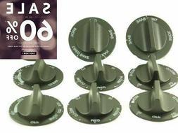 SUPCO RK362 Range Stove Oven Universal Knob Kit for Whirlpoo