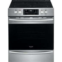 """Frigidaire Stainless 30"""" Electric Front Control Freestanding"""