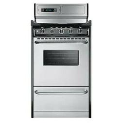 Summit TEM130BKWY Electric Range - Freestanding - 20 Wide -