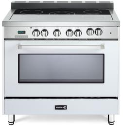 """Verona VEFSEE365W 36"""" Electric Range Single Oven Convection"""