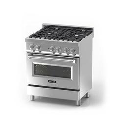 "Z Line E30-40 30"" 4.0 cu. ft. 4 Gas Burner/Electric Oven Ran"